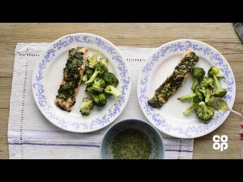 Co-op Food   Herb-crusted Scottish Salmon Fillets