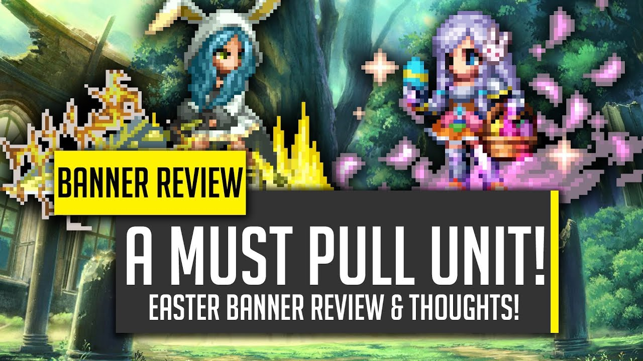 Ffbe Christmas Banner 2020 MUST HAVE UNIT! Esther & Sylvie Easter Banner Review!   [FFBE