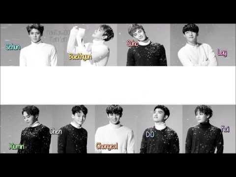 EXO - Unfair (불공평해) Korean Version [ Sub Español /Romanizacion/Hangul] (Color Coded)