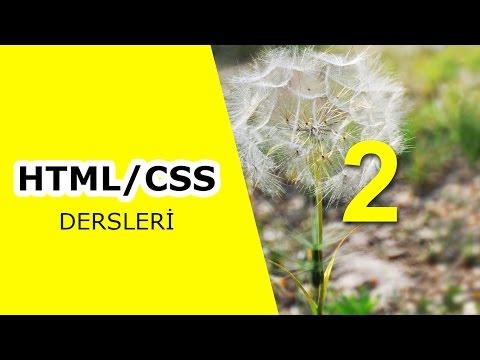KODLAR TV- HTML/CSS Dersleri 2.Bölüm - Web Renkleri Oluşturma
