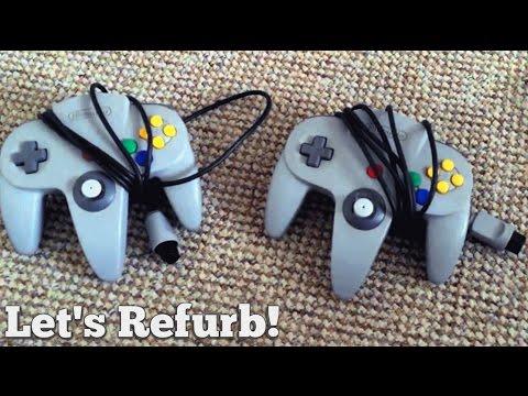 Let's Refurb! - Restoring N64 Controllers & Joysticks (Part 1)