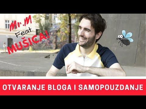 Mr.M feat. Mušica: Otvaranje bloga i samopouzdanje