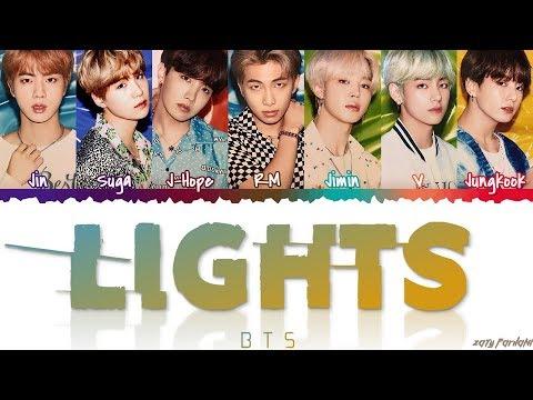 BTS (日本語字幕) – ''LIGHTS' Lyrics [Color Coded_Kan_Rom_Eng]