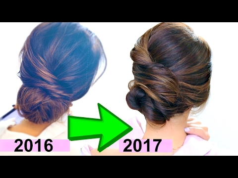 TOP 3 EASY ELEGANT BUN HAIRSTYLES