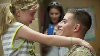 SOLDIERS COMING HOME | Emotional Surprise Compilation 2017 | RESPECT