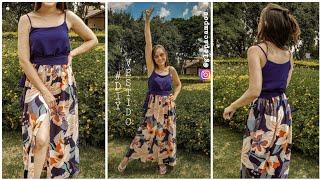 Vestido Longo de Verão modelo 2020