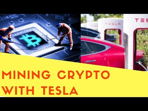 Mining Cryptocurrency With Tesla ? Someone Tried