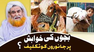 Janwar Ko Takleef Dena Kesa?   Qurbani Ka Janwar   Bakra Eid Special   Maulana Ilyas Qadri  Eid 2020