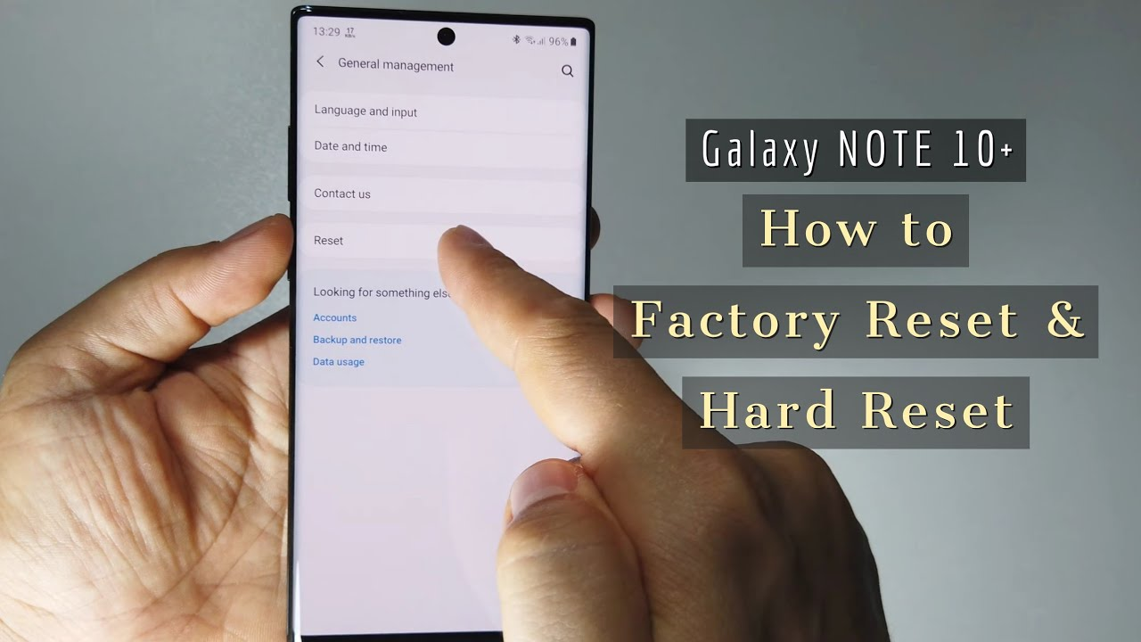 How to Hard Reset & Factory reset Galaxy Note 112 and Note 112 Plus  12 ways