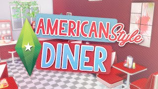 Sims 4: American Style Diner! Speed Build