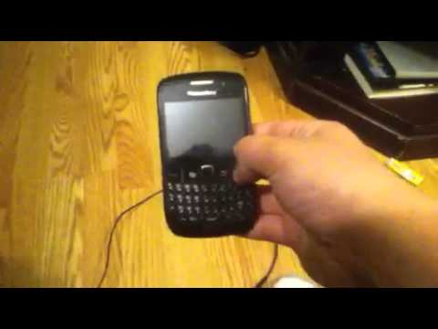 blackberry curve turns off when charging