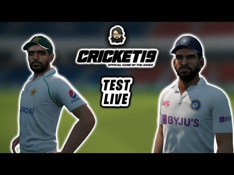 [04] Test Live • India A 🇮🇳 vs Pakistan 🇵🇰 • Cricket 19 Live ❤️ • Anmol Juneja thumbnail