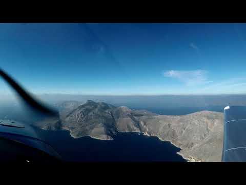 Flying to Kythira (LGMG-LGKC)