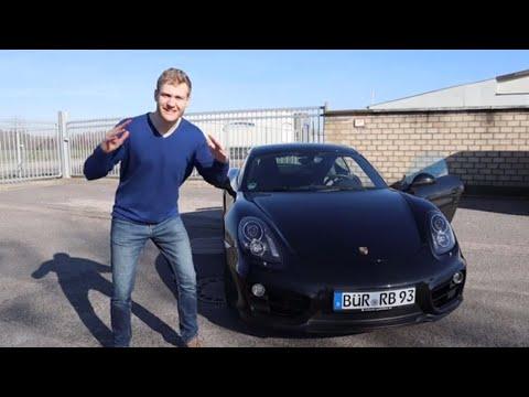 Porsche Cayman S Jungs - Komm in die Gruppe
