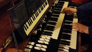 A WITHER SHADE OF PALE (The organ part and melody)