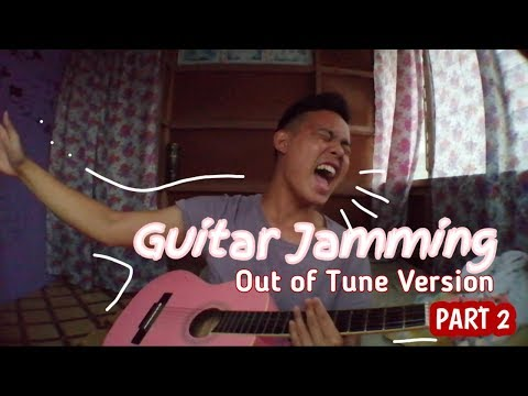 Guitar Jamming Session Part 2 | Out of Tune Singing | Janel Java