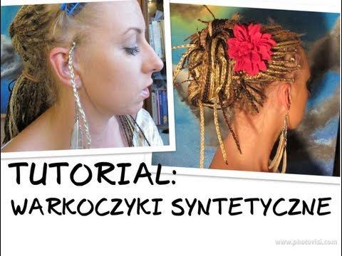 Jak Zaplatać Warkoczyki Syntetyczne Tutorial How To Make Synthetic Braids African Rastas
