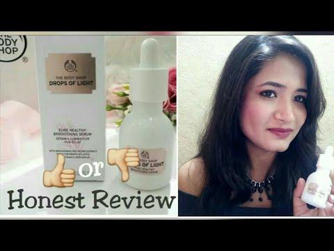 8f8b473b9d2 The Body Shop Drops of Light Brightening Serum | Honest Review - YouTube