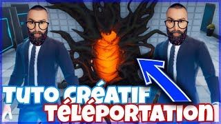 Tuto fortnite creative vertical teleportation horizontal mechanical glitch