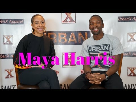 Maya Harris: Being a Woman of Color in multi-media, Entrepreneurship, and Mental Wellness