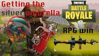 Fortnite || Getting my silver umbrella