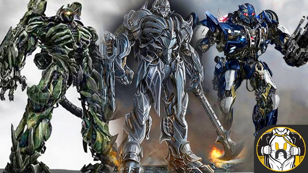 The Decepticons in Transformers: The Last Knight - YouTube