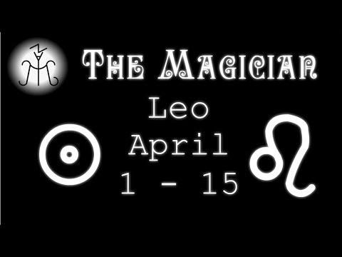 """Leo April 2017 (1 - 15) - """"Release Yourself. Trust."""""""