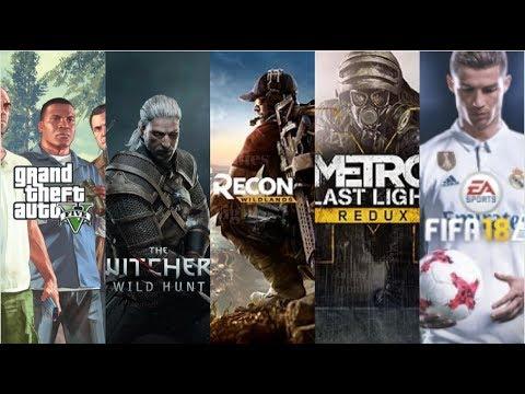 Acer Predator Helios 300 GTX 1050ti: 5 Major AAA Games Benchmarked(GTA 5, Witcher, FIFA18 & More)