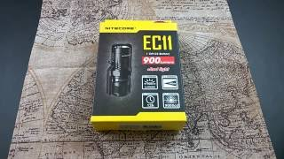 Nitecore EC11 - günstige EDC Taschenlampe mit viel Power