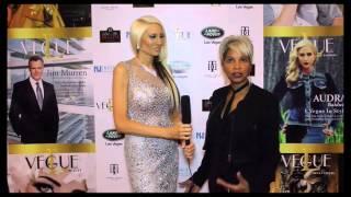 Celebrity Host Tiffinie Tee interviews Debrae Little for David Tupaz L'Vegue Magazine