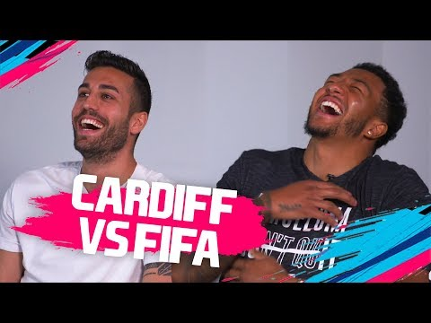Who is the FASTEST player at Cardiff City? | Camarasa & Mendez-Laing vs FIFA 19 🔥