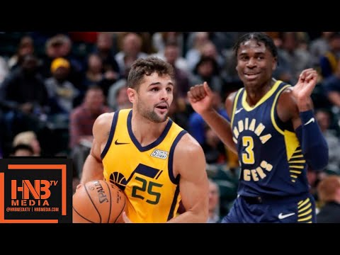Utah Jazz vs Indiana Pacers Full Game Highlights | 11.19.2018, NBA Season