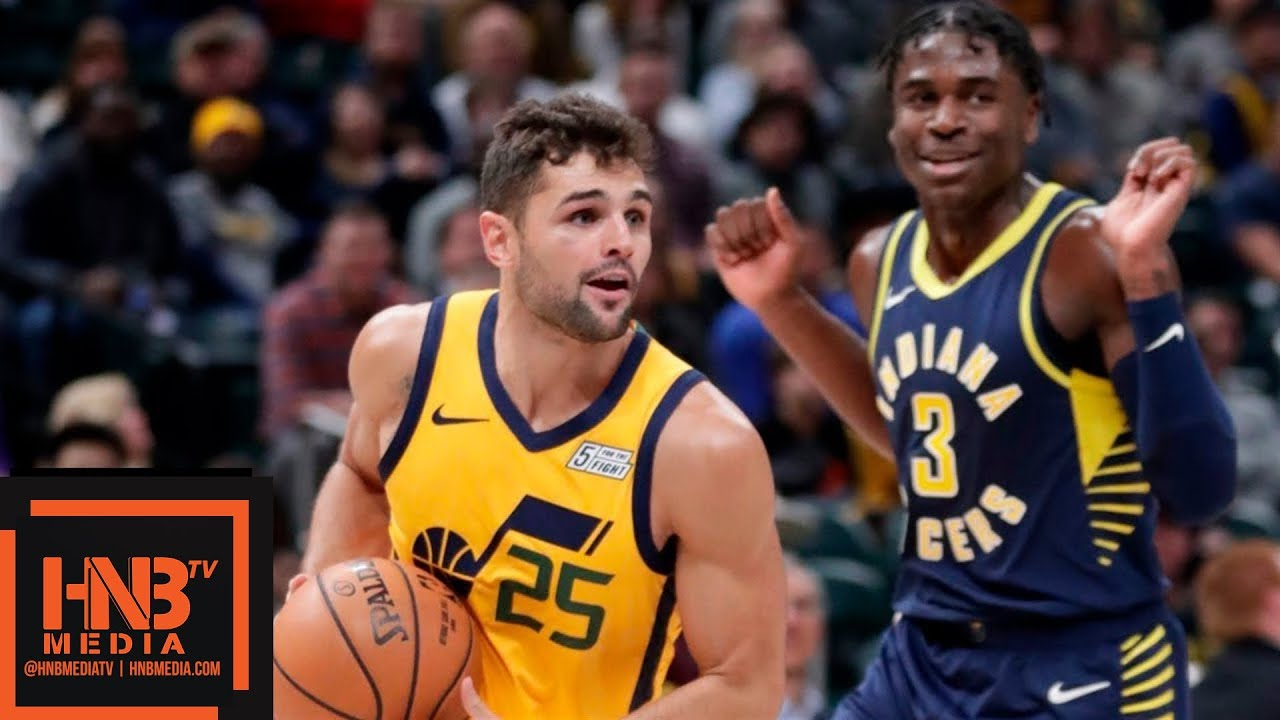pacers jazz NBAHighlights