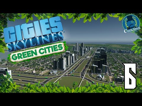 Cities Skylines: Green Cities #6 El Monorraíl de la Ciudad E