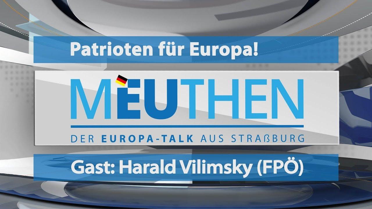 2 Patrioten für Europa: Meuthen trifft Vilimsky