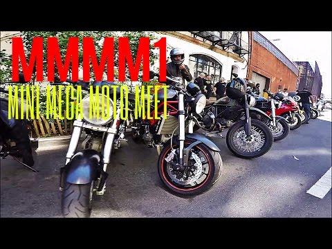 MMMM1 - NYC Motorcycle MEETUP! - Mega Mini Moto Meet - DucatiNYC + DJ Motovlogs