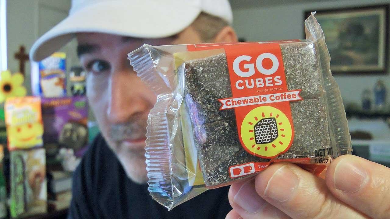 Nootrobox Go Cubes Chewable Coffee Review Java Palooza Ep 10