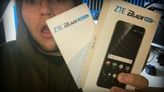 ZTE Blade MAX View & ZTE Blade Max 2S Hands On Review Unboxing specs price