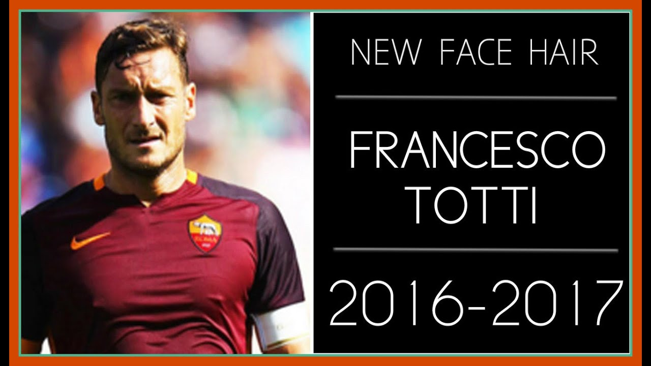 PES 2013 | NEW FACE & HAIR FRANCESCO TOTTI • 2016-2017 ...