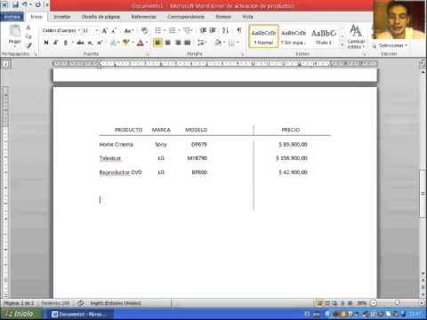 how to make a tabular form in microsoft word