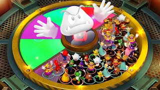 Super Mario Party Minigames - Goomba No Hands: How will He Fight Without Hands? vs Mario Luigi Peach