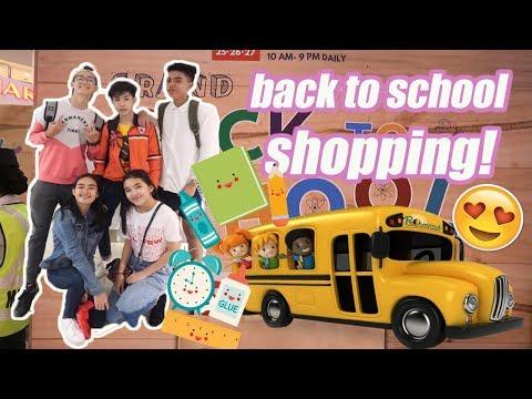 BACK TO SCHOOL SHOPPING 2018! Ft. NATIONAL BOOK STORE (PHILIPPINES) | RenielReyesTV