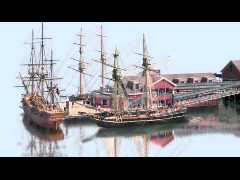 Boston Tea Party Attractions - Barge Launched | #29