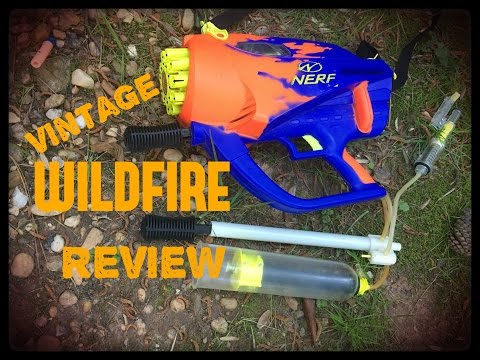 Vintage Review: Nerf Wildfire (20 Rounds of 90's FULL AUTO)