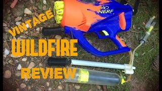 vintage review nerf wildfire 20 rounds of 90 s full auto