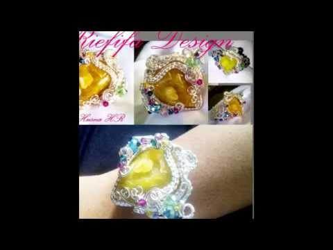 RIEFIFA DESIGN Wire Jewelry Handmade by : Husna HR ( Aceh - Kota Lhokseumawe ) 1st
