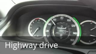 2013 - 2014 Honda Accord CVT driving test and review