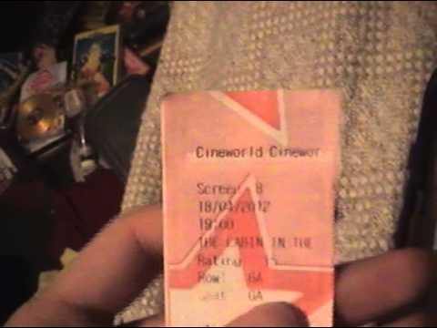 Cineworld Ticket Collection