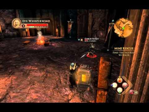 Dungeons & Dragons: Daggerdale - Elven Rogue Gameplay