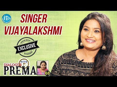Singer Vijayalakshmi Exclusive Interview | Dialogue With Prema #68 | Celebration Of Life | #494